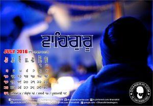 Dhansikhi-Monthly Calander-July-3