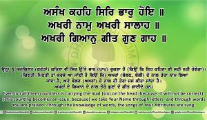 Sri Guru Granth Sahib Ji Arth Ang 4 post 11