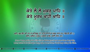 Sri Guru Granth Sahib Ji Arth Ang 5 post 17