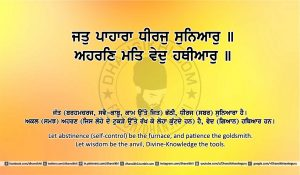 Sri Guru Granth Sahib Ji Arth Ang 8 post 13
