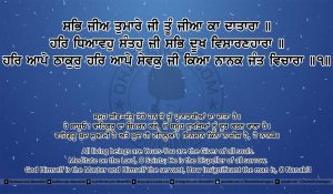Sri Guru Granth Sahib Ji Arth Ang 10 Post 14