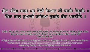 Sri Guru Granth Sahib Ji Arth Ang 6 post 18
