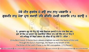 Sri Guru Granth Sahib Ji Arth Ang 10 Post 3