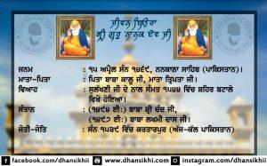 Jeevan Beaura Sir Guru Nanak Dev Ji