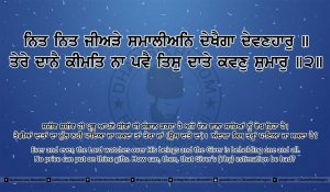 Sri Guru Granth Sahib Ji Arth Ang 12 post 14
