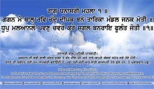 Sri Guru Granth Sahib Ji Arth Ang 13 post 1