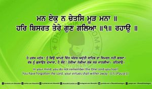 Sri Guru Granth Sahib Ji Arth Ang 12 post 4