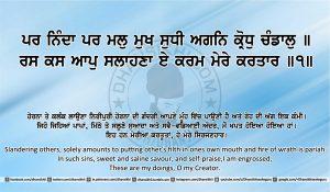 Sri Guru Granth Sahib Ji Arth Ang 15 post 10