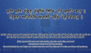 Sri Guru Granth Sahib Ji Arth Ang 20 post 14