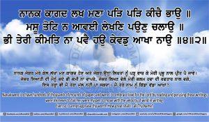 Sri Guru Granth Sahib Ji Arth Ang 15 post 1