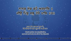 Sri Guru Granth Sahib Ji Arth Ang 25 post 14