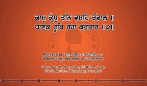 Sri Guru Granth Sahib Ji Arth Ang 24 post 16