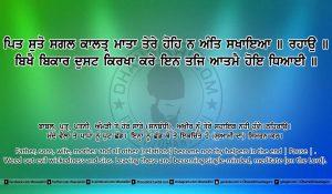 Sri Guru Granth Sahib Ji Arth Ang 23 post 17