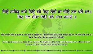 Sri Guru Granth Sahib Ji Arth Ang 25 post 24