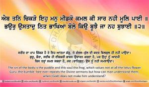 Sri Guru Granth Sahib Ji Arth Ang 24 post 3