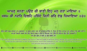 Sri Guru Granth Sahib Ji Arth Ang 24 post 4