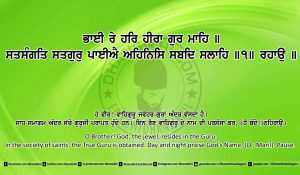 Sri Guru Granth Sahib Ji Arth Ang 22 post 4