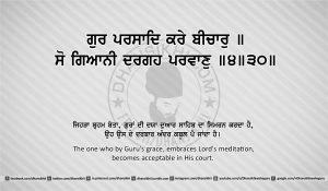 Sri Guru Granth Sahib Ji Arth Ang 25 post 8