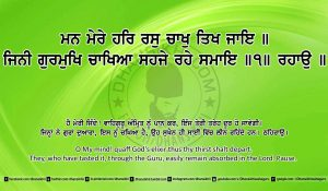 Sri Guru Granth Sahib Ji Arth Ang 26 post 5