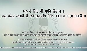 Sri Guru Granth Sahib Ji Arth Ang 26 post 13