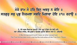 Sri Guru Granth Sahib Ji Arth Ang 27 post 3