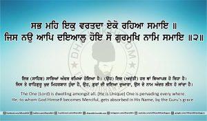 Sri Guru Granth Sahib Ji Arth Ang 27 post 5