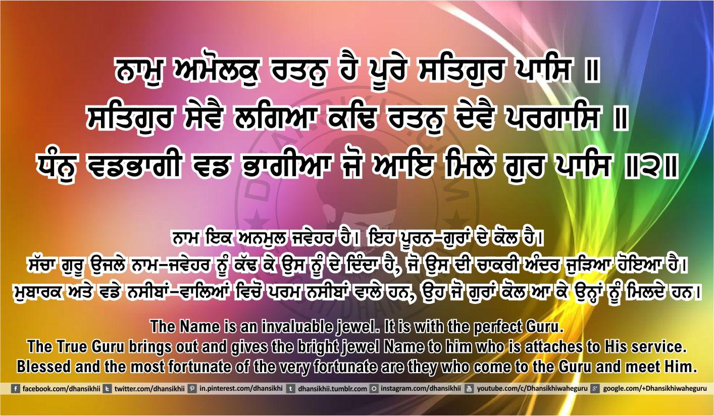 Sri Guru Granth Sahib Ji Arth Ang 40 post 6