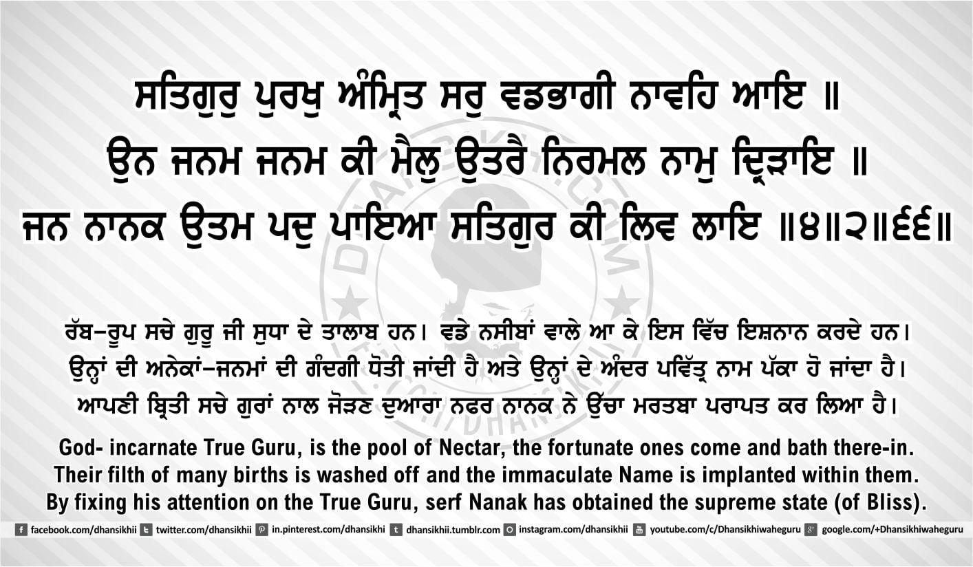 Sri Guru Granth Sahib Ji Arth Ang 40 post 8