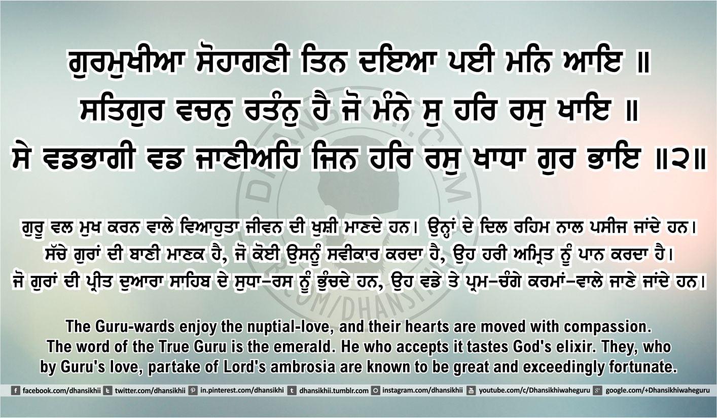 Sri Guru Granth Sahib Ji Arth Ang 41 post 10