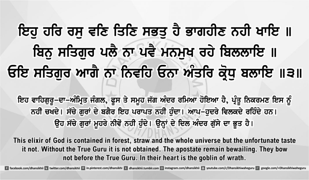 Sri Guru Granth Sahib Ji Arth Ang 41 post 11