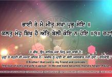 Sri Guru Granth Sahib Ji Arth Ang 41 post 15