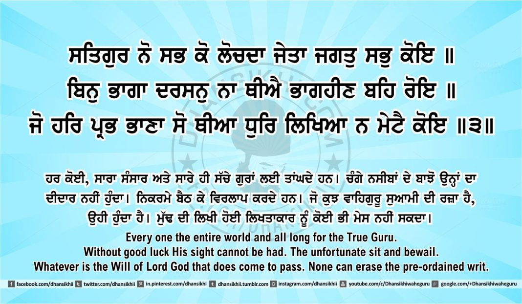 Sri Guru Granth Sahib Ji Arth Ang 41 post 5
