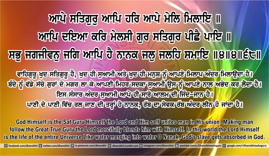 Sri Guru Granth Sahib Ji Arth Ang 41 post 6