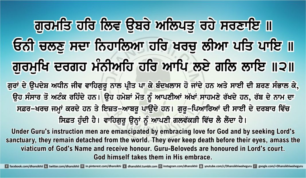 Sri Guru Granth Sahib Ji Arth Ang 42 post 1