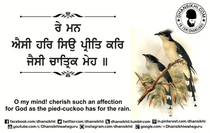 Gurbani Quotes - Re Man Chatrik