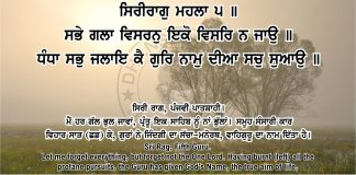 Sri Guru Granth Sahib Ji Arth Ang 43 post 12