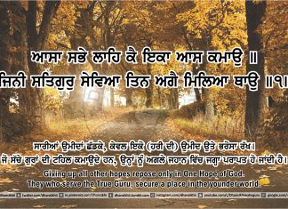 Sri Guru Granth Sahib Ji Arth Ang 43 post 13