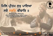Gurbani Quotes - Mil Preetam Sukh