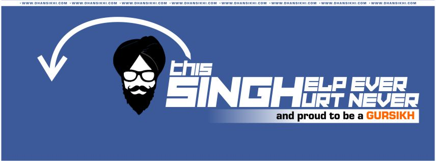 Facebook Cover - Singh Help Ever Hurt Never