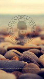 Dhansikhi logo with stones