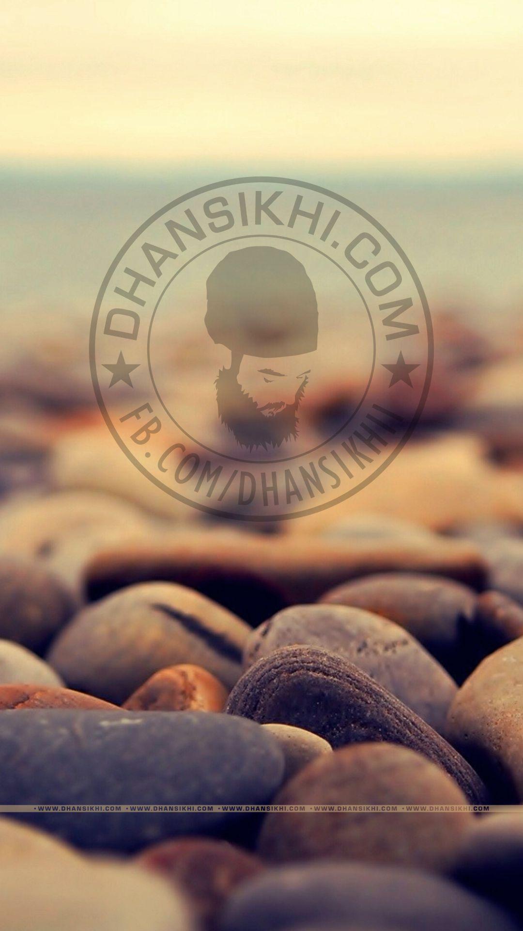 Dhansikhi logo with stones