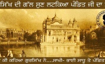 Saakhi - Bhai Sadhu te Pandit Ji