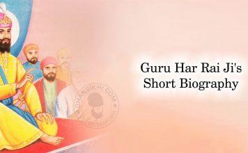 Guru Har Rai Ji's Short Biography