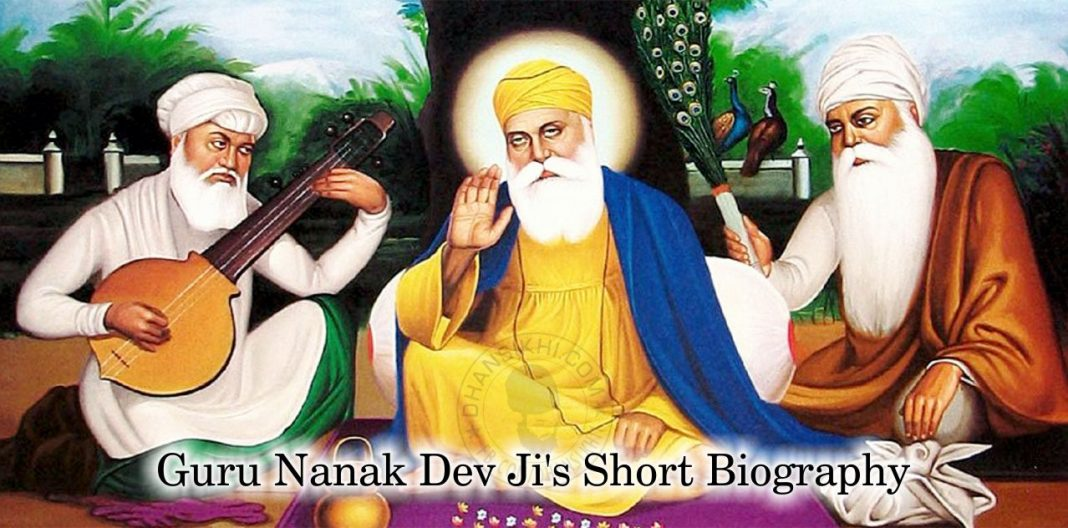 Guru Nanak Dev Ji's Short Biography