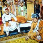 Sikh History – Todarmal paying money for land, Gurbani Quotes, Sikh Photos, Gurmukhi Quotes, Gurbani Arth, Waheguru, HD Sikh Wallpaper