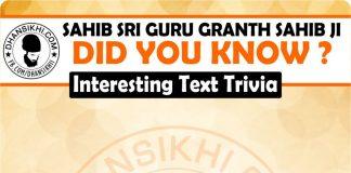 Gurbani GK - Did You Know ?