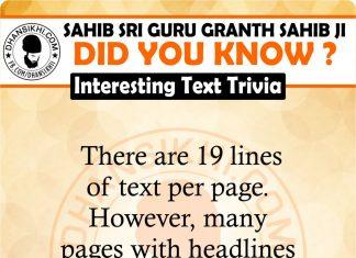 Gurbani - Did You Know ?