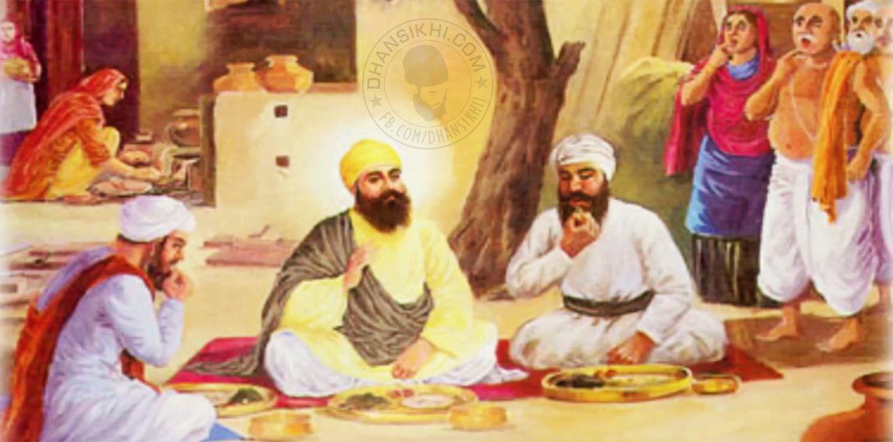 saakhi guru nanak dev ji ate bhai lalo gurbani quotes sikh photos