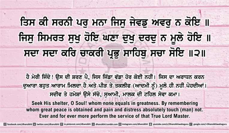 Sri Guru Granth Sahib Ji Arth Ang 44 post 14