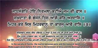 Sri Guru Granth Sahib Ji Arth Ang 44 post 15